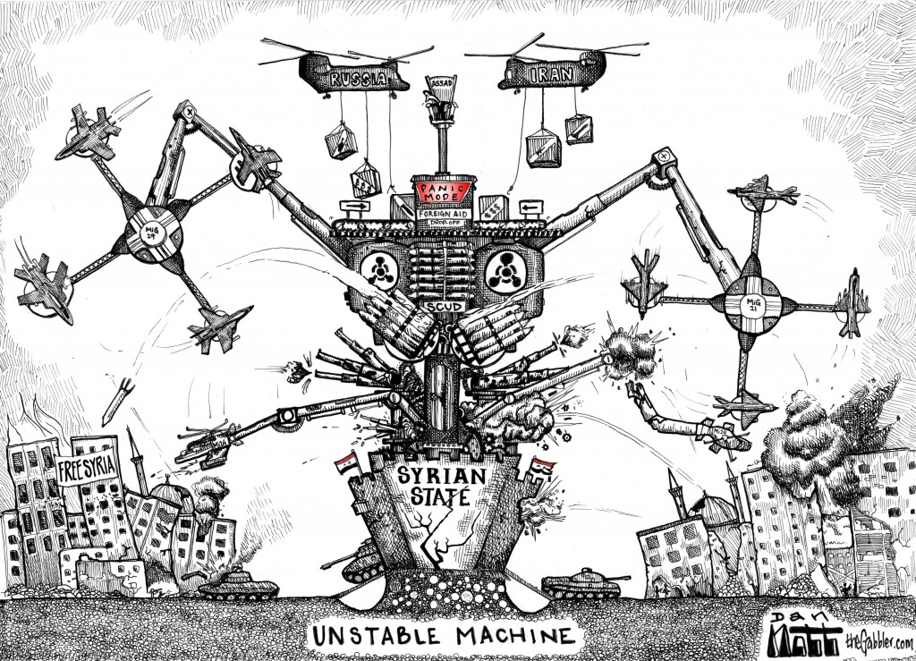 Assad's Regime: Unstable Machine