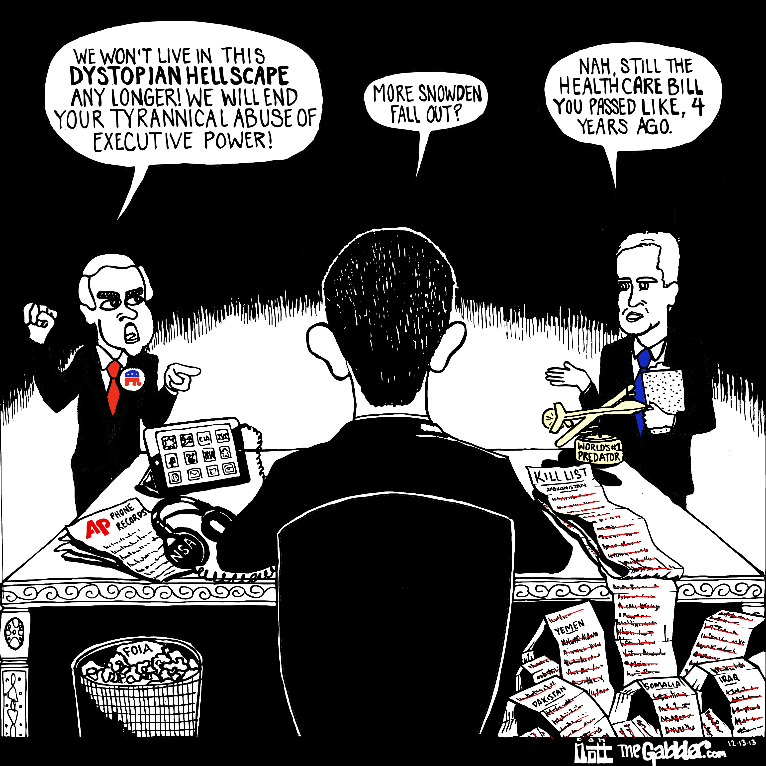 Obama's Abuse of Executive Power « THE GABBLER